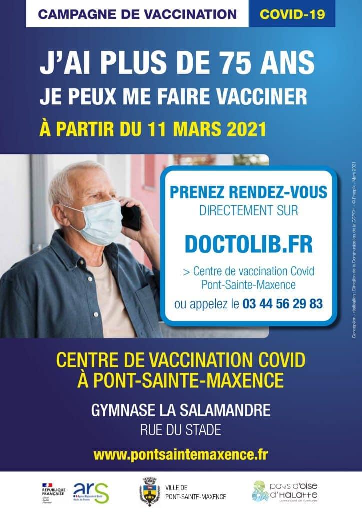 Lire la suite de l'actualité Centre de vaccination à Pont-Ste-Maxence